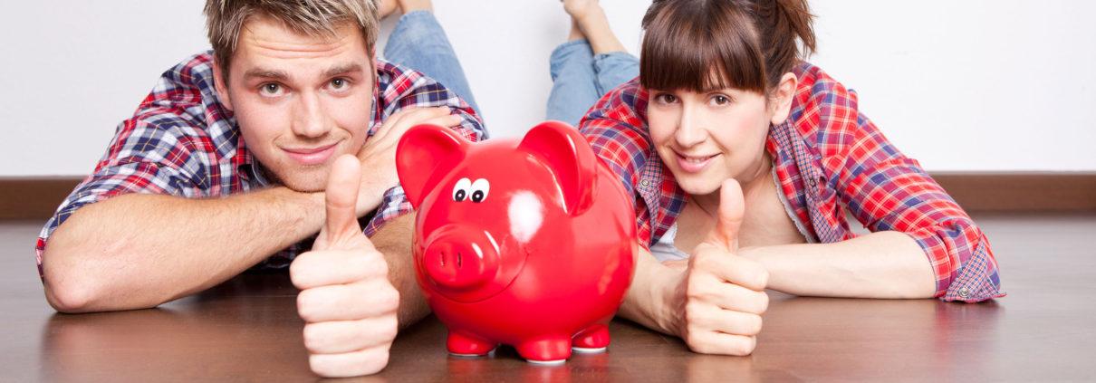 sparen, Geld zurück, pendeln
